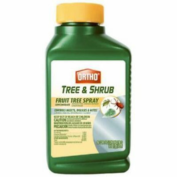 Ortho 16 OZ Fruit Tree Spray Bottle 3-In-1 Product: Insect Disease
