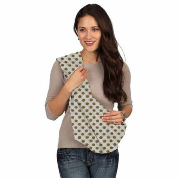 Karma Baby Karma White with Golden Dot Breathable Cotton Fabric Baby Sling - Large