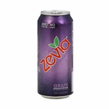 Zevia All Natural Grape Soda, 16 Ounce - 12 per case.