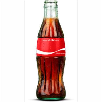 Personalized Coca-Cola 8 Fl Oz Glass Bottles, 12 Count