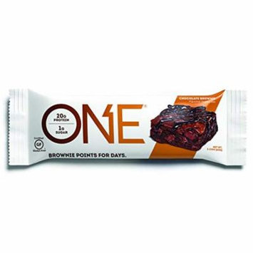 One Protein Bar Chocolate Brownies (Pack of 24)