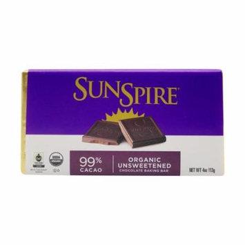 Pack of 2 - Organic Unsweetened Chocolate Baking Bar, 4 oz