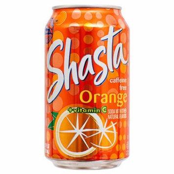 New 365332 Shasta 12 Oz Orange (24-Pack) Can Soda Cheap Wholesale Discount Bulk Beverages Can Soda Shasta