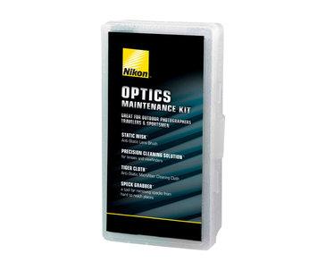Nikon Optics Maintenance Cleaning Kit (Brush, Solution, Cloth, Grabber)
