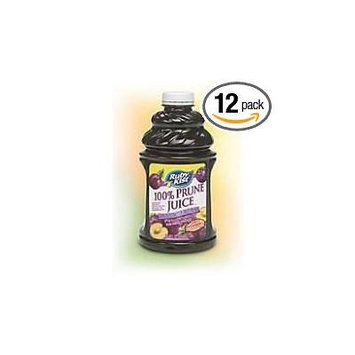 12 PACKS : Clement Pappas Bombay Prune Juice, 46 Ounce -- 12 per case.