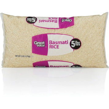 Great Value Gv Basmati Rice 5lb