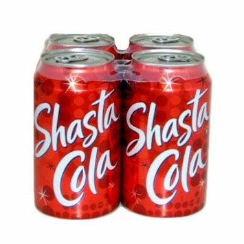 New 809567 Shasta Soda 12Oz Cola 4Pk (6-Pack) Can Soda Cheap Wholesale Discount Bulk Beverages Can Soda