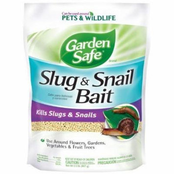 Garden Safe Slug and Snail Bait, 2-Pound, 4536 , New,