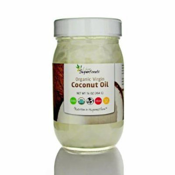 Live Superfoods Raw Virgin Coconut Oil - 16 oz