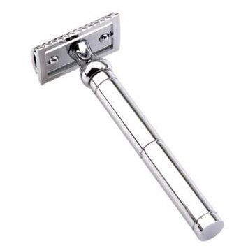 Double-edged Razor Double-sided Metal Trimmer Men's Traditional Beard Razor Long Handled Razor For Dry & Wet Shaving Male Shaving Tool
