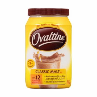 Nestle Ovaltine Classic Malt Beverage 12-Ounce Canisters (Pack ...