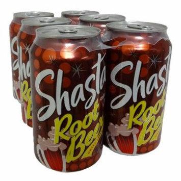 New 820953 Shasta Soda 12Oz Root Beer 4Pk (6-Pack) Can Soda Cheap Wholesale Discount Bulk Beverages Can Soda Fish Bowl