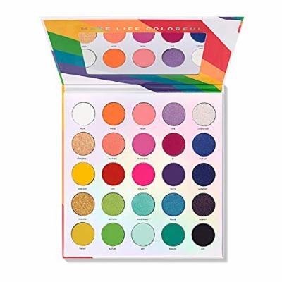 In Hand Morphe Live In Color Pride Palette 25l & 7 Piece Eye Brush Set
