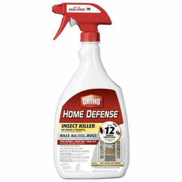0221310 Home Defense MAX Insect Killer for Indoor and Perimeter RTU Trigger, Non-staining By Ortho