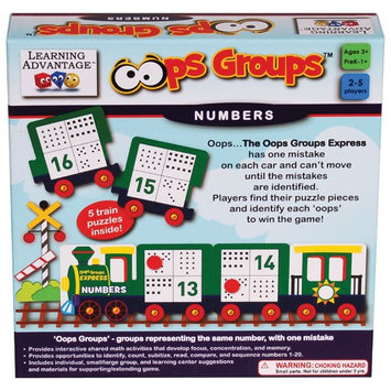 Learning Advantage CTU2136 Oops Groups Numbers
