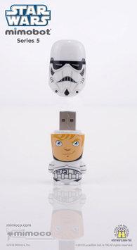 Mimoco 16GB MIMOBOT USB 2.0 Flash Drive - Stormtrooper Unmasked - 16GB - USB 2.0 - Stormtrooper Unmasked