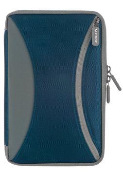 M-Edge Latitude Jacket Carrying Case for Digital Text Reader, Tablet PC - Navy Blue - Nylon Canvas, Ballistic Nylon - 8.5