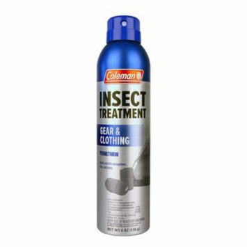 Coleman Gear and Clothing Permethrin Insect and Tick Repellent, 6 Ounce