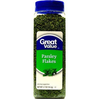Wal-mart Stores, Inc. Great Value Parsley Flakes Seasoning, 2.7 oz