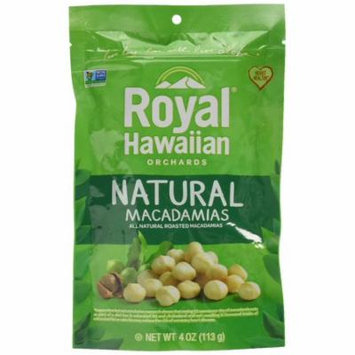 Royal Hawaiian Orchards Macadamias Natural Roasted, 4 Ounce