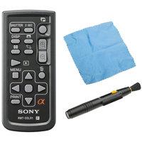 Sony DSLR RMT-DSLR1 Wireless Camera Remote with Accessory Bundle
