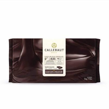 Callebaut Belgian Chocolate Block, D835, 53.1% Cocoa, viscosity 2, 11 Lbs