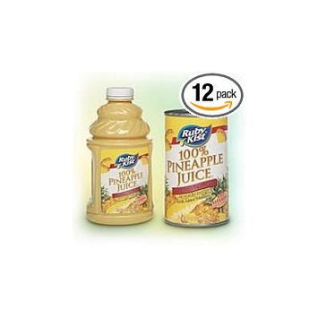 12 PACKS : Clement Pappas Bombay Pineapple Juice, 46 Ounce -- 12 per case.