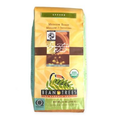 Beantrees 2-Pack Signature Blend Ground Organic Coffee