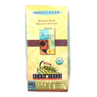 Beantrees 2-Pack Decaf House Blend Whole Bean Organic Coffee