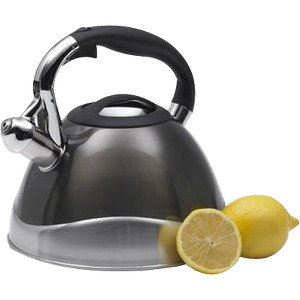Creative Home Cookware - 3.1 quart Kettle - Stainless Steel, Aluminum, Silicone Handle
