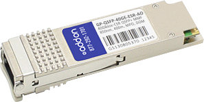 AddOn Dell Force10 GP-QSFP-40GE-ESR Compatible TAA Compliant 40GBase-SR4 QSFP+ Transceiver (MMF, 850nm, 400m, MPO, DOM) - 100% compatible and guaranteed to work