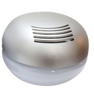 EcoGecko 75020 Classic Water Based Air Purifier Revitalizer/Freshener - Silver