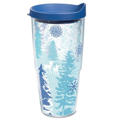 Tervis® Blue Christmas 24 oz. Wrap Tumbler with Lid