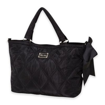 Thea Thea, Llc. THEA THEA Diaper Bag in Black with Nursing Cape