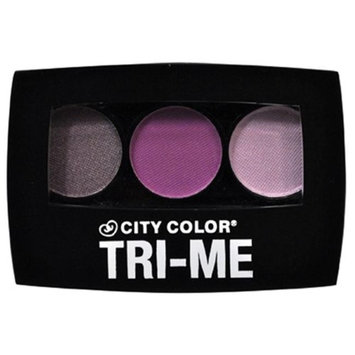City Color B-0032 E-0006A Tri-Me Eyeshadow Bright - Pack of 3