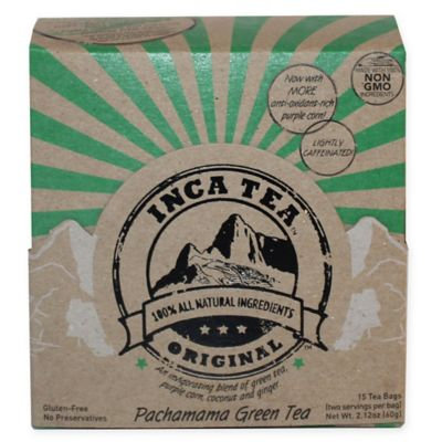 Inca Tea® 90-Count Pachamama Green Tea Set
