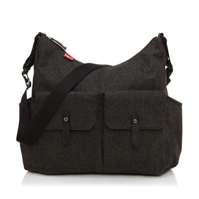 Babymel Frankie Tweed Changing Bag, Grey