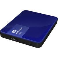 Western Digital My Passport Ultra 2TB Portable External Hard Drive, Blue (WDBBKD0020BBL-NESN)