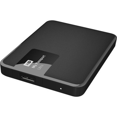 Western Digital My Passport Ultra 1TB Portable External Hard Drive, Black