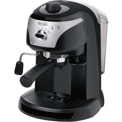 DeLonghi EC 220.CD Espresso - 1100 W - 15 bar - 1.06 quart - Transparent, Black - Stainless Steel