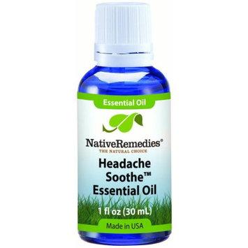 Aswechange NativeRemedies Headache Soothe Essential Oil Blend 30mL, 30 mL