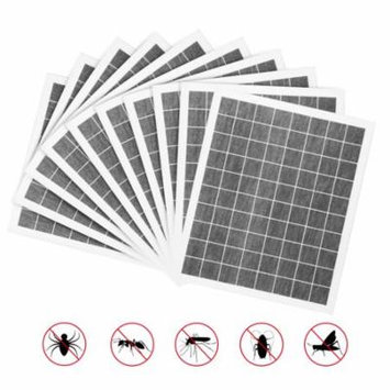 YUNLIGHTS 10PCS Sticky Glue Board Fly Flies Trap Catcher Bugs Insects Catcher Board for 10W Wall Sconce Insect Killer