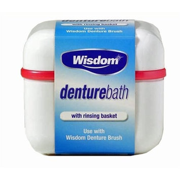 Wisdom Denture Holder Bowl