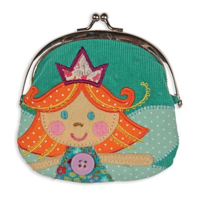 Stephen Joseph® Signature Kiss Lock Fairy Purse in Blue