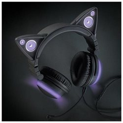 Cat Ear Headphones Purple