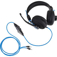 Accessory Power Enhance ENGXH30100BKEW Headset - Stereo - Black - Mini-phone - Wired - 20 Hz - 20 MHz - Over-the-head - Binaural - Circumaural - 8.66 ft Cable - Yes