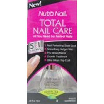 Nutra Nail Total Nail Care, 5 in 1 Treatment