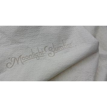 Moonlight Slumber Little Dreamer Naturals Organic Cotton Crib Mattress Cover (Waterproof) - Little Dreamer Naturals Organic Crib Mattress Cover - Waterproof - Taut Fit - Hypoallergenic - Made in the USA