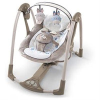 Ingenuity Power Adapt Portable Swing - Bingham Bunny