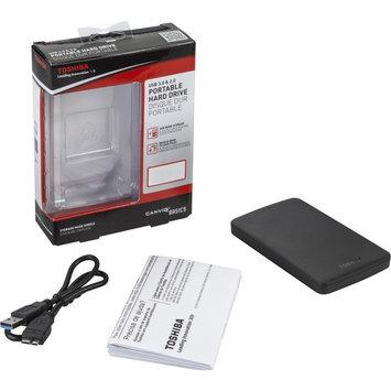 Hitachi Toshiba Canvio Basics 3.0 HDTB330XK3CA 3TB External Hard Drive - USB 3.0 - 5400rpm - 8MB Buffer - Portable - Black